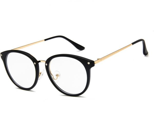 2018e5a468 Student plain glass spectacles Retro eyeglasses frame fashion eyewear