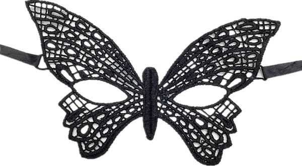 Black Lace Masquerade Masks For Women Venetian Style Eye Mask Costume Ball Halloween Party Butterfly