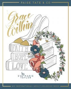 Grace Within An Inspirational Adult Coloring Book Christian Bible Journaling And Lettering Gifts