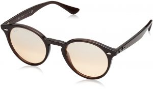 1b3ddd391fd Ray-Ban INJECTED MAN SUNGLASS - OPAL BROWN Frame BROWN MIRROR SILVER GRADIENT  Lenses 49mm Non-Polarized