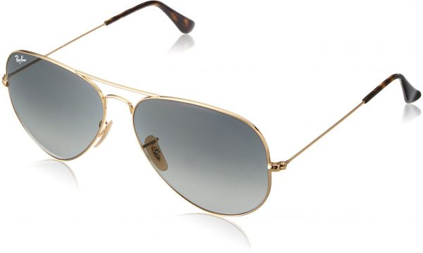 76e961fa03a46 Ray-Ban 3025 Aviator Large Metal Non-Mirrored Non-Polarized Sunglasses