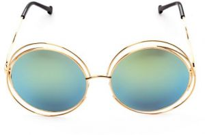 1b2f50caa904 Punkl Fashion Round Vintage Sunglasses Metal Glass Frame For men women