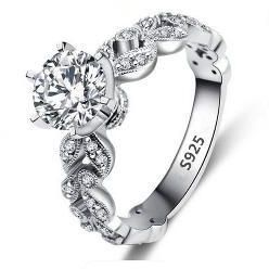 S925 Ale 52 Size 5.75 High Standard In Quality And Hygiene Buy Cheap Pandora Sterling Ring