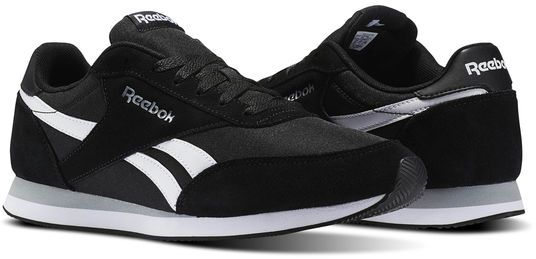 6c4f6c37cd4d Reebok Royal Cl Jog Running Athletic Shoes For Men - Black   White. by  Reebok