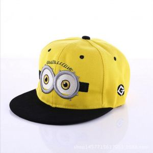 Baseball Hat Cap for Kids Hip Hop Students Flat hat Sports Hat Adjustable  SIze 50 - 52 cm a1b33cf94cfd