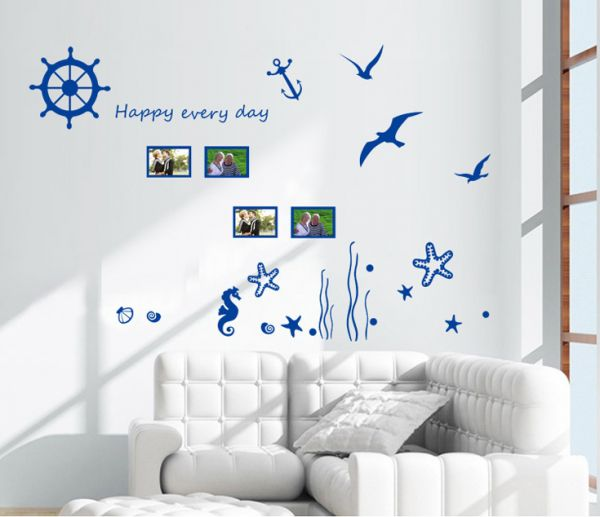 Fashion Diy Sea Creature Wall Stickers Home Decoration Souq Uae