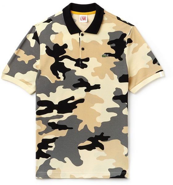 1791ebf48a2214 Lacoste Camouflage Print Polo T-Shirt for Men - Multi Color