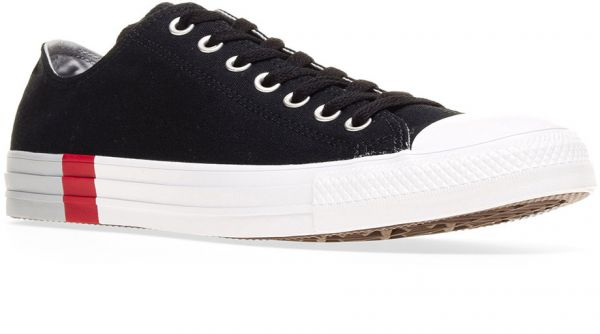2defee938322 Converse Chuck Taylor All Star Ox Fashion Sneakers for Men - Black ...