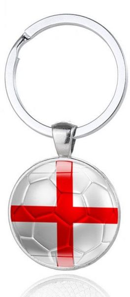 53b98ebd867 England World Cup Football Key Chain Flag Logo Soccer Club Fans. by Other