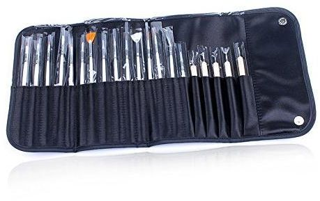 20 PCS Nail Art Design Painting Detailing Brushes & Dotting Pen Dotter Tool Kit Set