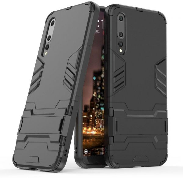 online store 5a0b2 a7f51 Huawei P20 Pro Case, Huawei P20 Pro Hybrid Case, Dual Layer Shockproof  Hybrid Rugged Case Hard Shell Cover with Kickstand for 6.1 Inch Huawei P20  Pro