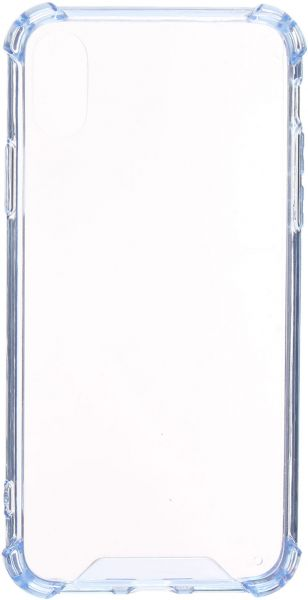 Back Cover For Apple iPhone X, Clear Light Blue