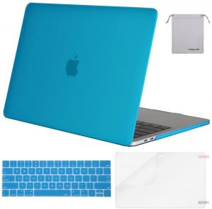 innovative design ffa2e a8031 Mosiso MacBook Pro 15 Case 2018 2017 2016 Release A1990 / A1707 with Touch  Bar, Plastic Hard Shell & Keyboard Cover & Screen Protector & Storage Bag  ...