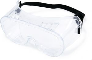 Empiral Vision Anti Fog Full Protection Safety Goggles - Clear