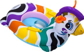 Summer Cute Kids Baby Child Inflatable Swimming Laps Pool Swim Ring Seat Float Boat Water Sports-xx