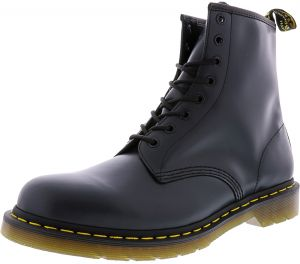 Dr Martens 1460 8 Eye Smooth Lace Up Boots For Women Navy Blue