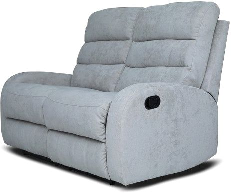 Pan Emirates Agenta 2 Seater Recliner Sofa Grey Souq Uae