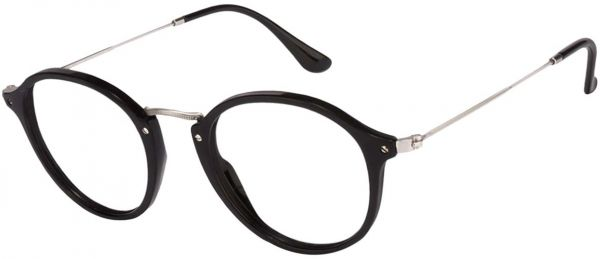 f22e6797537 Ray-Ban Women s Round Fleck Eyeglasses - RB2447V-2000 - 49-21-145 mm ...