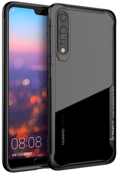half off 97f61 7c731 IPAKY Shockproof Hybrid Armor Case Full Edge Cover For Huawei P20 Pro