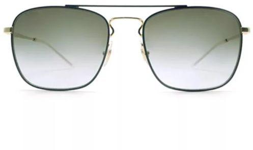 9eaa12aa27 RayBan Men s Square Sunglasses RB3588 9062 I7 Size 55 Color Light Green