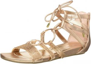 b5450fd3f73 Kenneth Cole REACTION Women s 7 Lost Look Gladiator Laceup Sandal