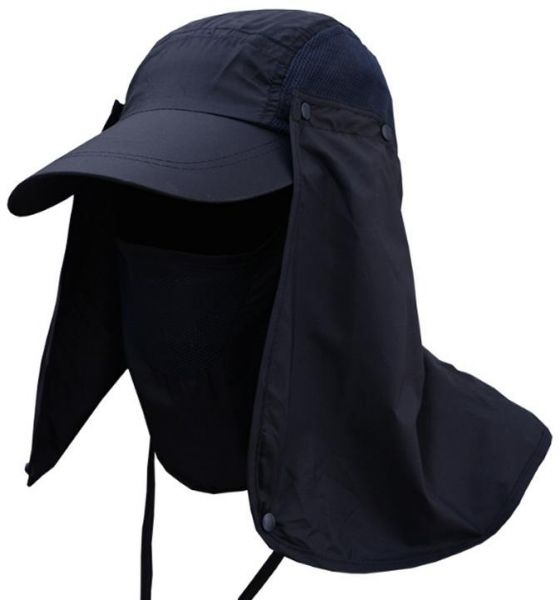 9c22ae9c94 Sun Hats Neck Flap Cover for Cycling Hiking Camping Gardening Cap  Detachable