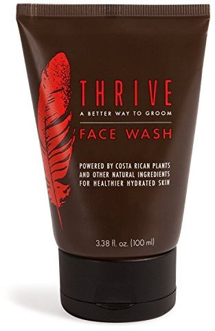 Thrive Natural Face Wash For Men Daily Facial Cleanser For Men