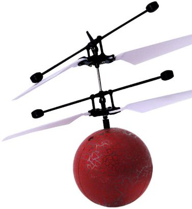 Hand Induction Flying Ball Sensor Flashing Lighting Flight Crystal Ball RC  Helicopter Toy Children Gift