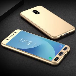 Samsung Galaxy J3 2017, MOONCASE Case Cover Coverage Protection with Tempered Glass Screen Protector