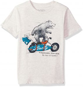 Lucky Brand Little Boys  Short Sleeve Graphic Tee Shirt 1d55bd8e5