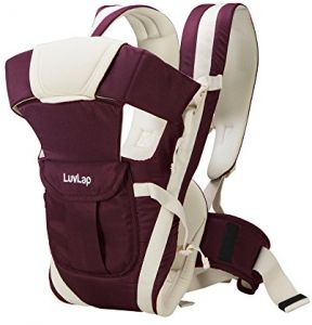 3a9306c18d930 LuvLap Elegant Baby Carrier (Purple)