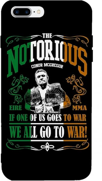 8a85181b1b675 Conor McGregor Notorious - Iphone 8 cover