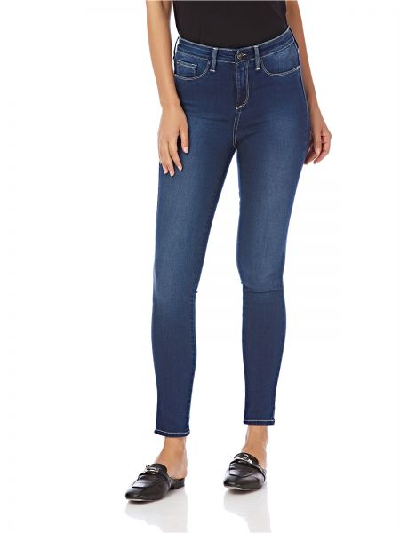 ac3158629d539 Tiffosi One Size Fits All Skinny Jeans for Women - Navy Blue