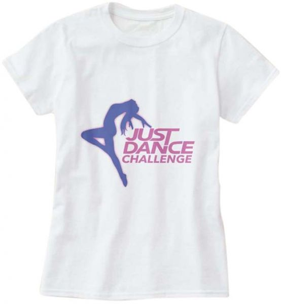 fa137339 T-Shirt with design for Girls - Just Dance Challenge , White | KSA ...