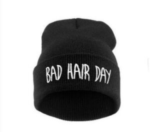 7aea02cab61 Black Beanie   Bobble Hat For Unisex