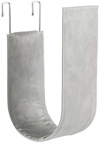 Interdesign Lauren Over The Tank Toilet Paper Roll Holder Gray
