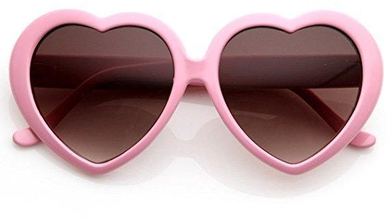 875dadd2389 Heart-Shaped Sunglasses Women Vintga Black Pink Red Heart Shape Sun ...
