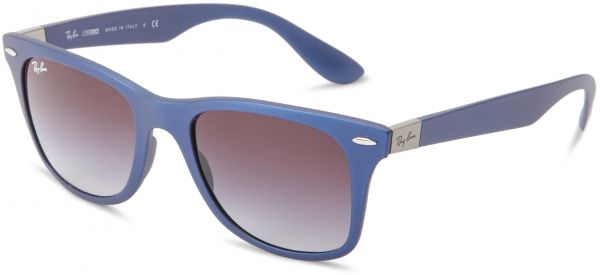 Buy Ray-Ban WAYFARER LITEFORCE - BLUE Frame GREY GRADIENT Lenses ...