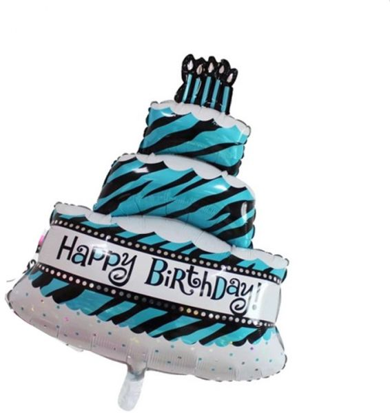 3 Layers Cake Foil Extra Large Balloon For Birthday Party