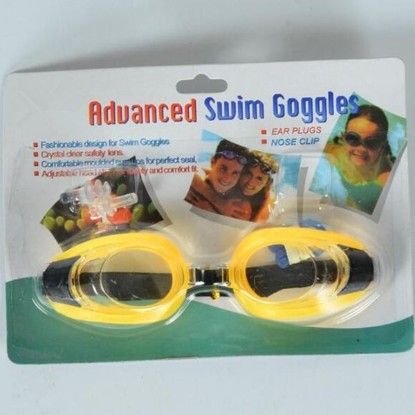 53c7ff22fdbe Kids Swim Goggles Anti-fog Lens and Hypoallergenic Silicone Gaskets ...