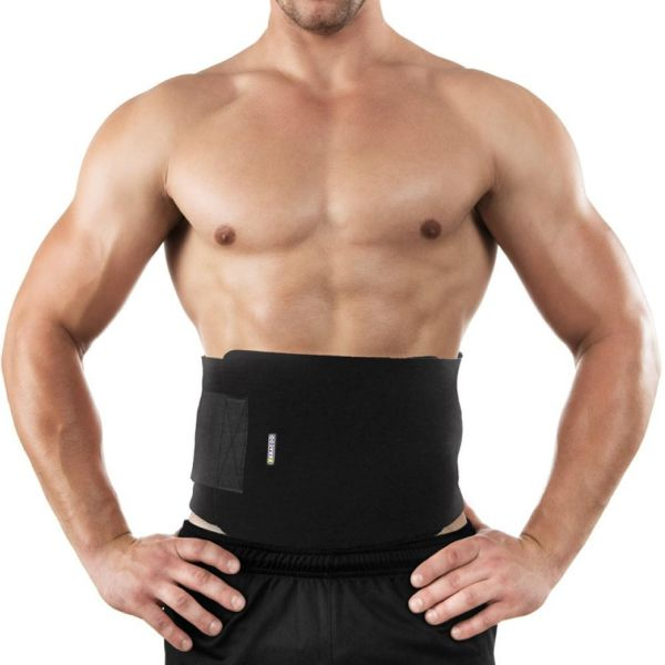 77d02b6df28d6 Waist Trimmer Trainer Belt Lifting Bodyshaper Brace Tummy Fat Burner For  Fitness Weight Loss Adjustable Size Low Back Lumbar Support for Men and  Women ...