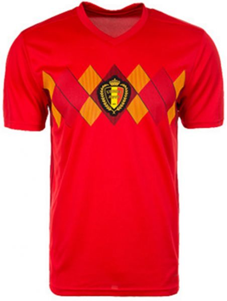 2018 World Cup Soccer Football Jersey Belgium Team Jersey ... 1e4095bdf