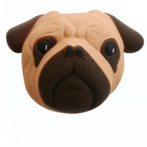 11 CM Kawaii Soft Slow Rising Squishy Dog Fun Head Phone Straps Squeeze Cream Scented Cake Kid Toy Gift-XX