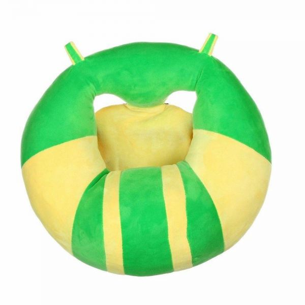 Icome Baby Support Seat Sit Up Chair Cushion Sofa Soft Plush Pillow Toy ‫(Green)