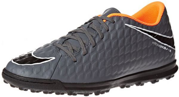 cheap for discount c7389 928e2 Nike Phantomx 3 Club TF Football Shoes For Men - Grey Orange