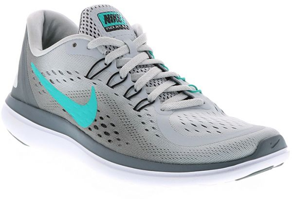 the latest f9b73 d0319 Nike Flex 2017 Rn Running Shoes For Women - Grey Turquoise