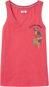 f874586f999f6e Tommy Hilfiger LIGHT Shirt Neck Shirts For Men Tank Top for Women - Red