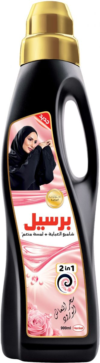 Persil 2 In 1 Rose Abaya Shampoo With A Touch Of Softener, 900Ml - 6281031259764