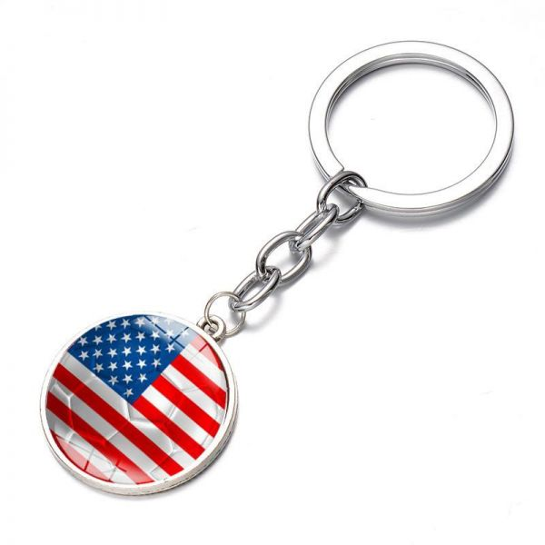5bc133b9aab JCOOL Creative 2018 Russia World Cup Football Keychain Flag Logo ...