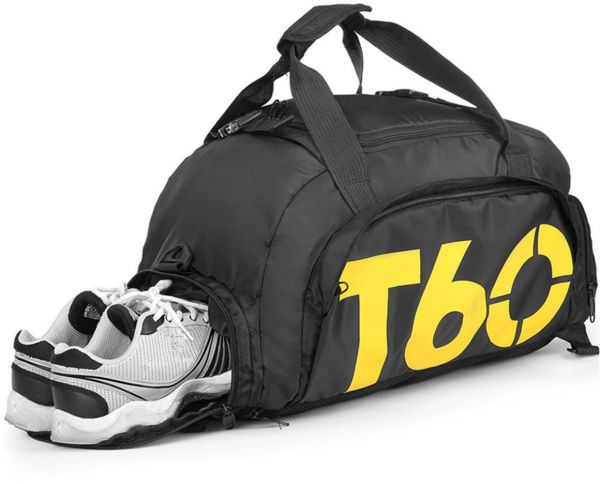 Travel duffel bag Fashion Foldable Bag Convertible Gym Bag Water Resistant  3 Ways CarrySports B  a3c26de2c24b0